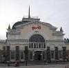 Железнодорожные вокзалы в Порхове